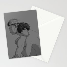 the only one to see him broken Stationery Cards