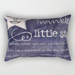 Chalkboard Nursery Rhymes III Rectangular Pillow
