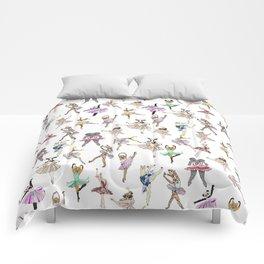 Animal Square Dance Comforters