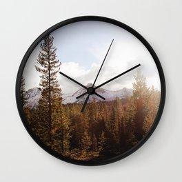 Sawtooth Forest Wall Clock