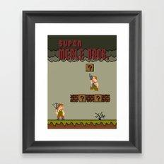 Super Merle Bros. Framed Art Print