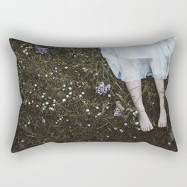 Floral legs Rectangular Pillow
