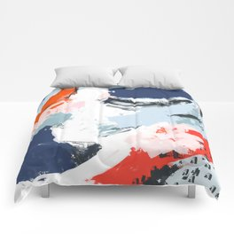 Abstract Color Pop Comforters