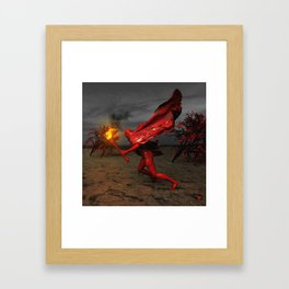 YOUR TIME WILL COME ∀ Framed Art Print