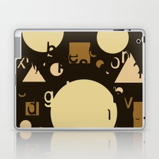 Geometry and equation Laptop & iPad Skin