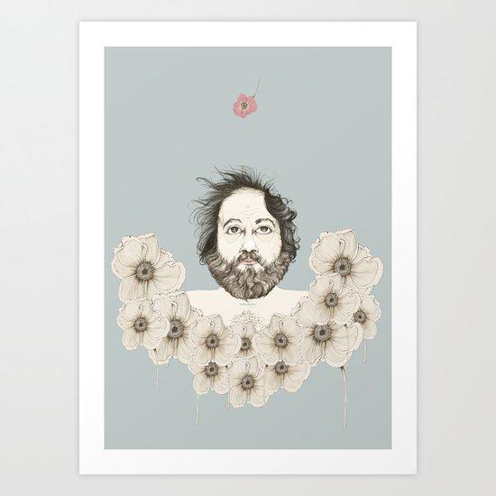Waiting for spring ... Art Print