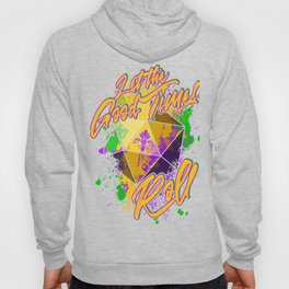 D20 Mardi Gras Let The Good Times Roll Hoody