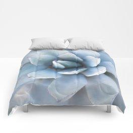 Succulent Blue Comforters