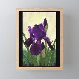 Purple Iris DP150530 Framed Mini Art Print
