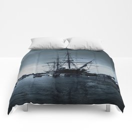 Ship The Warrior HMS 1860 Comforters