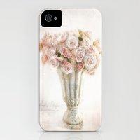 vintage roses Slim Case iPhone (4, 4s)