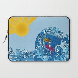 Surfer Girl Laptop Sleeve