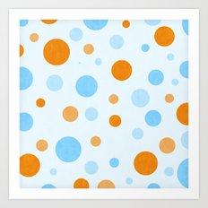 Something Fishy Bubbles Art Print