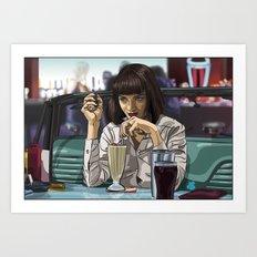 5 Dollar Milkshake Art Print