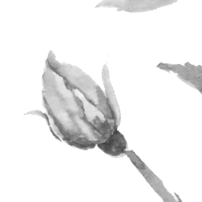 black and white roses Leggings