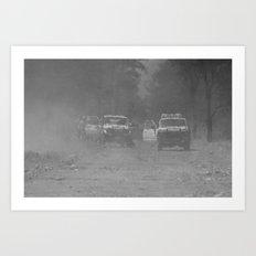 Smoke Haze Art Print