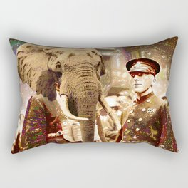 Elephant Man Rectangular Pillow