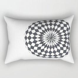 Spheric Chess Rectangular Pillow
