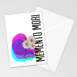 Memento Mori in CMYK Stationery Cards
