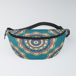 Who's the Mandala Seamless Pattern Fanny Pack