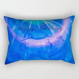 Zodiac sign Pisces 3 - Happy Birthday ! Rectangular Pillow