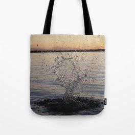 Waco Water Splash Tote Bag