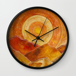 Sunset w.02 Wall Clock