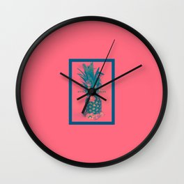 Pineapple Express Wall Clock