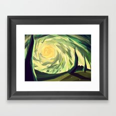 When the shadows come to life Framed Art Print