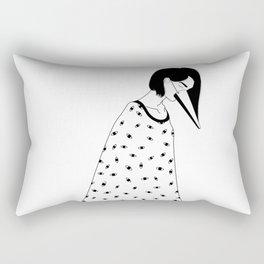 too many lies Rectangular Pillow