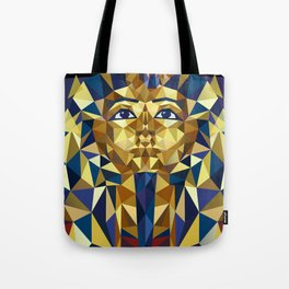 Golden Tutankhamun - Pharaoh's Mask Tote Bag