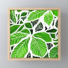 Foglie Framed Mini Art Print