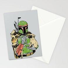 Pug Hunter Stationery Cards