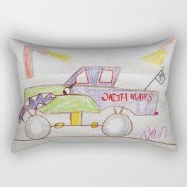 Featuring... Monster Truck Swamp Thing! Rectangular Pillow