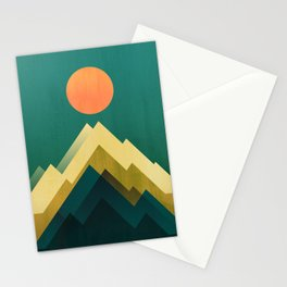 Gold Peak Stationery Cards