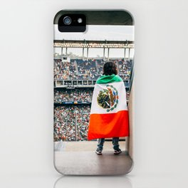 Mexican soccer iPhone Case