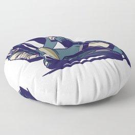 Motorbike  Floor Pillow