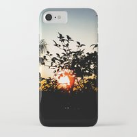 sunset iPhone & iPod Cases featuring Sunset by Mauricio Santana