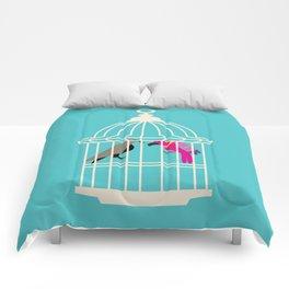 Enemies in the house Comforters