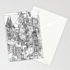 San Francisco! (B&W) Stationery Cards