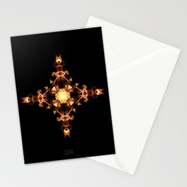Fire Cross Stationery Cards