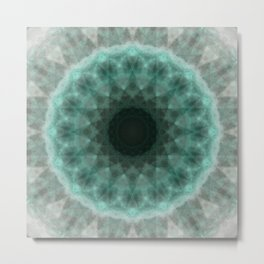 N-dimension projection # 2 (mandala) Metal Print