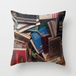 matchbook collection Throw Pillow