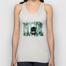 A Quiet Spot (in green) Unisex Tank Top