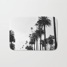 Los Angeles Black and White Bath Mat
