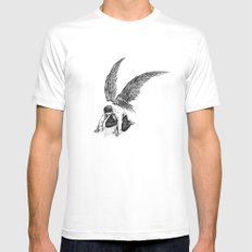 Span Mens Fitted Tee White MEDIUM