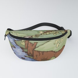 Vintage Poster - Rio Grande del Norte National Monument, New Mexico (2015) Fanny Pack