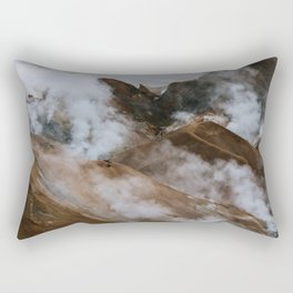Kerlingjarfjöll smoky Mountains in Iceland - Landscape Photography Rectangular Pillow