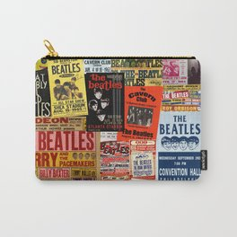 Vintage Rock Concert Posters Carry-All Pouch