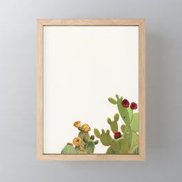 Cactus Garden II Framed Mini Art Print